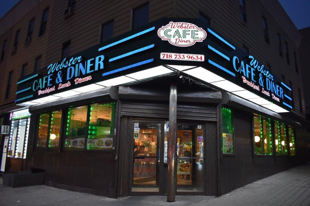 Webster Cafe Bronx Menu