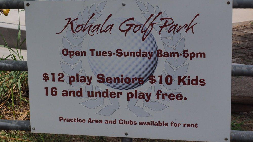 North Kohala Golf Park: 54-364 Kamehameha Park Rd, Kapaau, HI