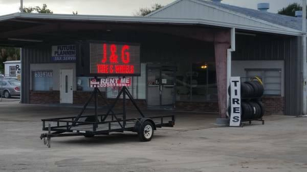 J & G Tire and Wheels: 1445 W King St, Cocoa, FL