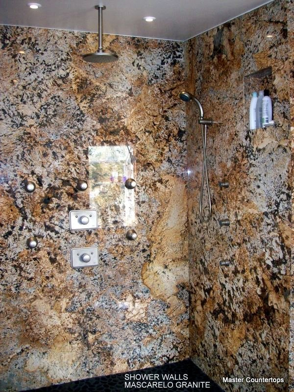 Full Granite Shower Walls In Mascarello Yelp