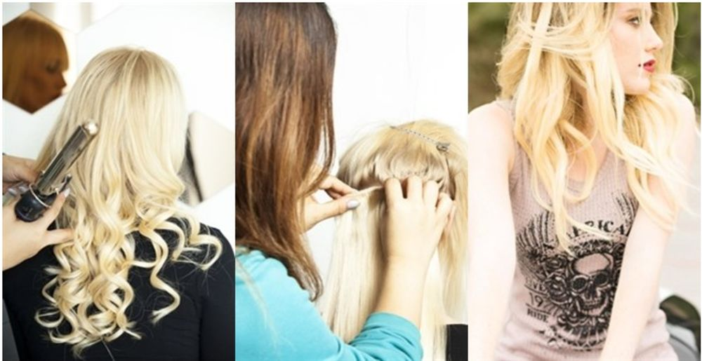 Easy To Apply Clip On Hair Extensions Instant Length And Volume Yelp