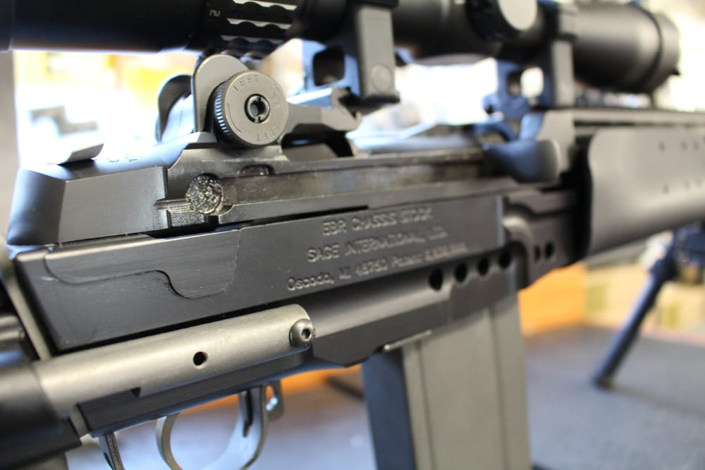 Turn your M1A into a DMR rifle with a SAGE stock kit - Yelp