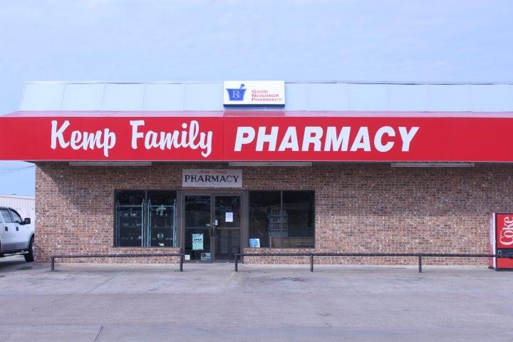 Kemp Family Pharmacy: 1224 South Elm, Kemp, TX