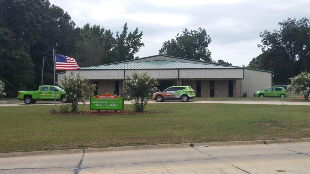 SERVPRO of Texarkana: 830 Redwater Road, Wake Village, TX
