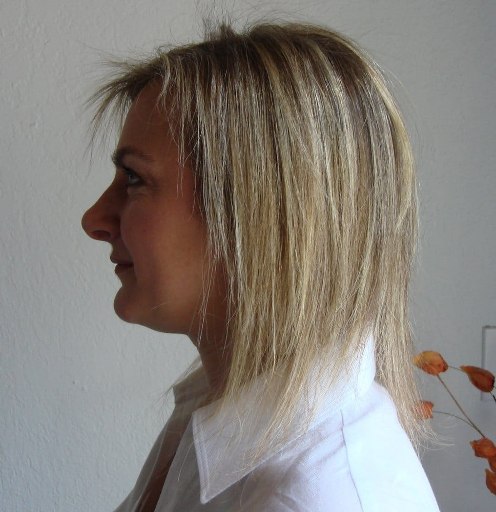 Before Hairdreams Hair Extensions Yelp