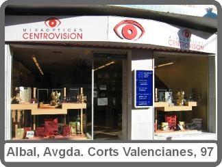 6222ed86e1 Centrovision Opticos - Eyewear & Opticians - Cortes Valencianas 99 ...