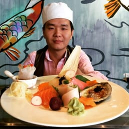 Mizu Hibachi & Sushi - New City, NY, United States. Chef Jimi | Sushi Sashimi and Oysters a la carte !!