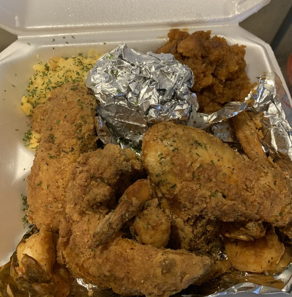 Food from Boss Queens Soul Cafe