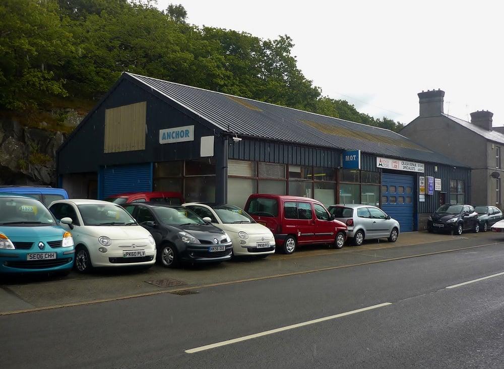 Anchor Motors Garages Bangor Road Bethesda Gwynedd