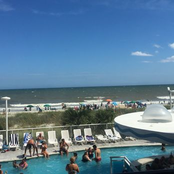 Photo Of Hotel Blue Myrtle Beach Sc United States The View From