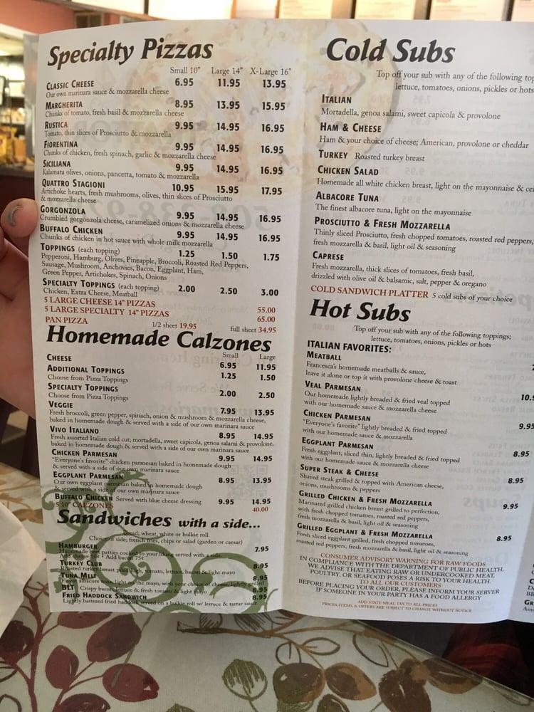 Italian Restaurants Near Easton Ma