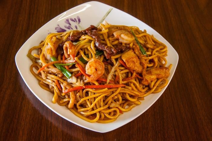 how to make combination lo mein