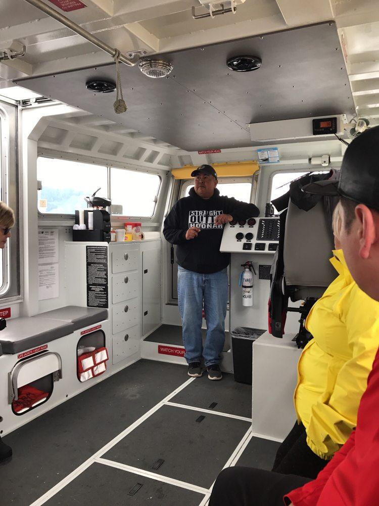 Icy Strait Whale Adventures: 274 Marine Way, Hoonah, AK