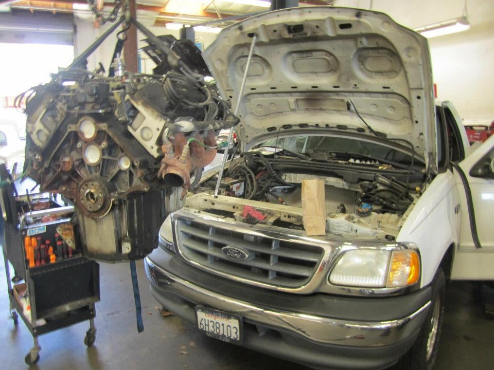 F150 4 2 V6 Engine Removal For Freeze Plugs