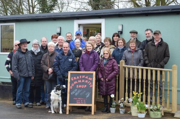 ee40908e Photo of Grafham Community Shop - Grafham, Cambridgeshire, United Kingdom.  Some of our