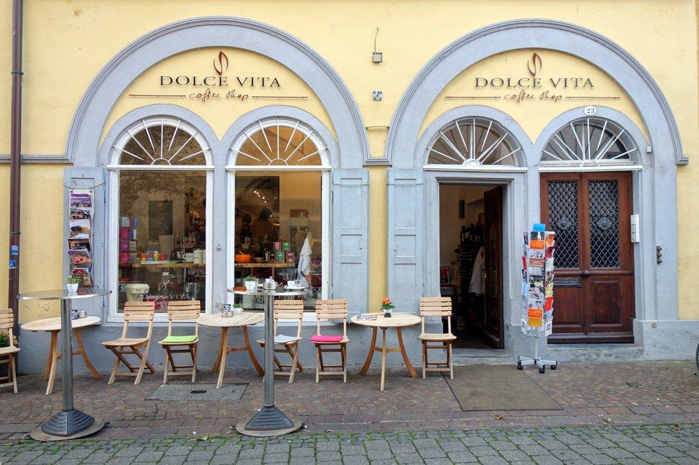 dolce vita coffee shop artigos para ch caf zollernstr 23 konstanz baden w rttemberg. Black Bedroom Furniture Sets. Home Design Ideas