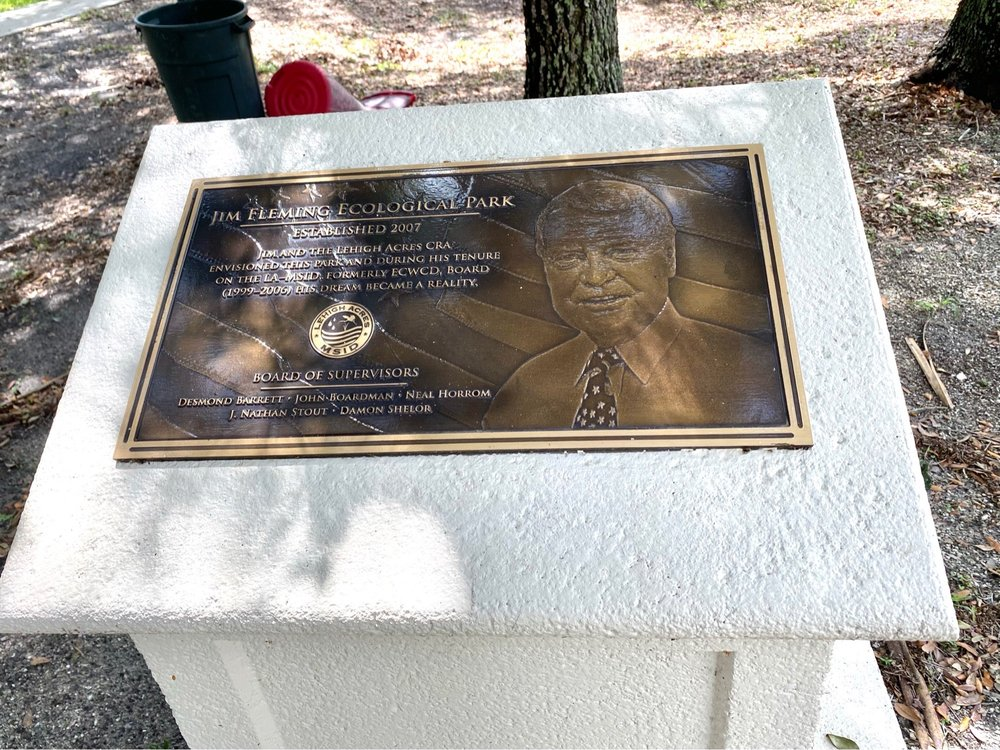 Jim Fleming Ecological park: 3713 5th St W, Lehigh Acres, FL
