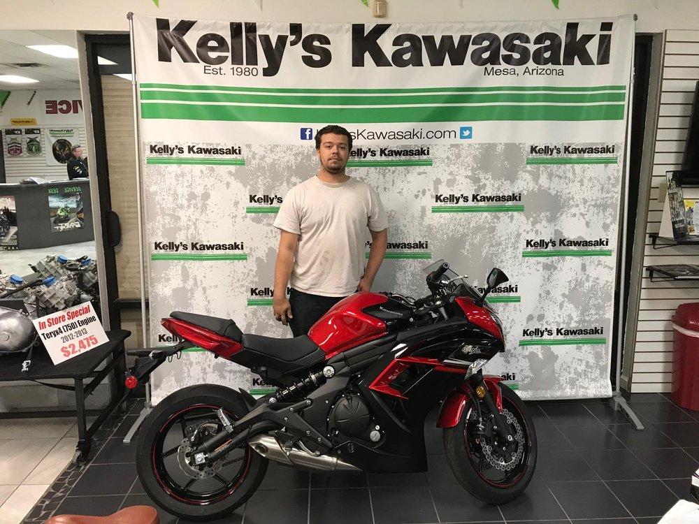 Kelly's Kawasaki