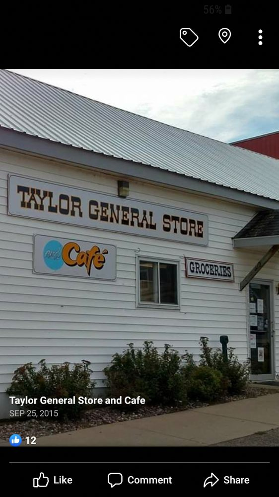 Taylor General Store and Cafe: 30 2nd St, Taylor, WI