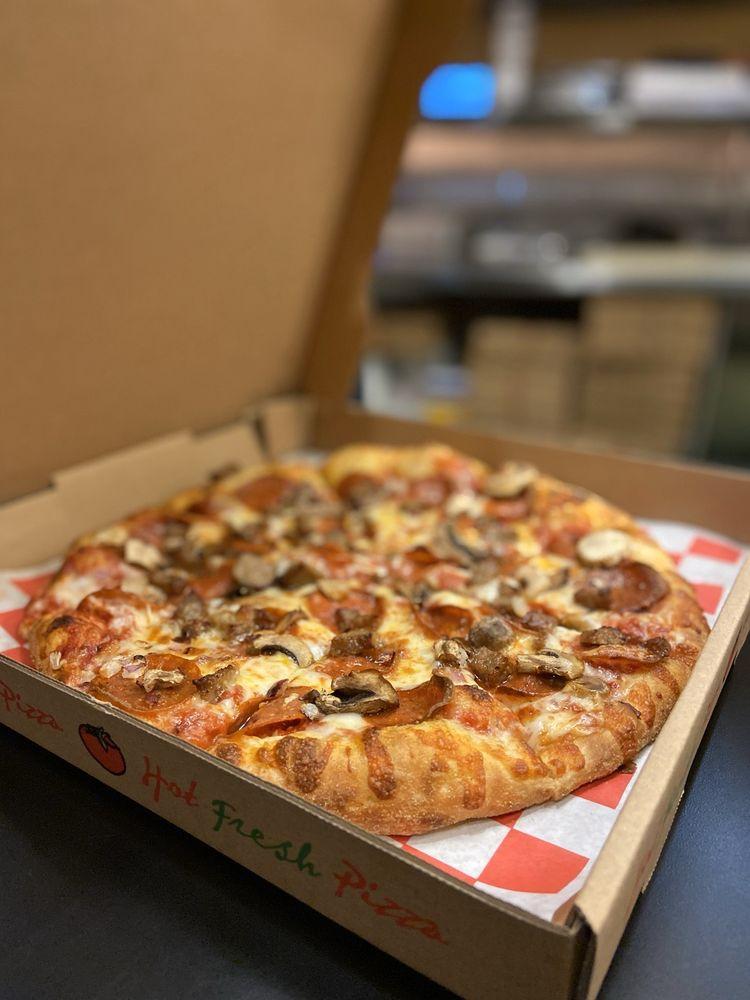 Pizza Q BBQ: 1231 E Washington St, Colton, CA