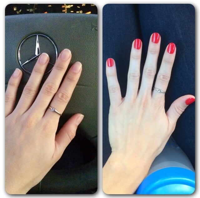 Photo Of Pearl Nails Rosemead Ca United States Before After Gel
