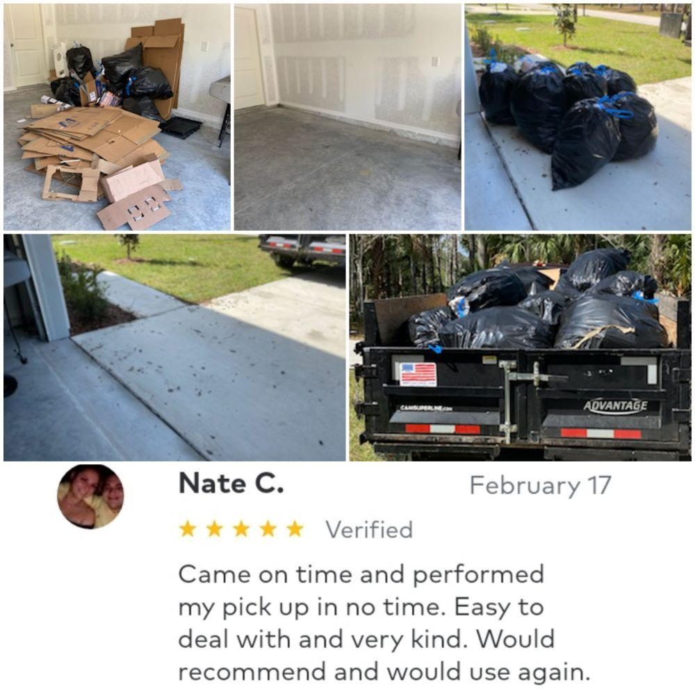 A-Z Hauling And Junk Removal: 259 Reynolds Rd, De Leon Springs, FL