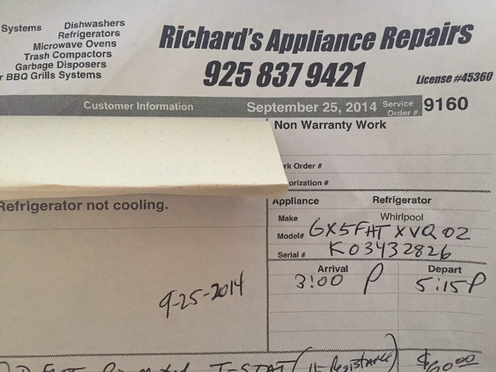 Richard S Appliance Repairs 61 Reviews Appliances