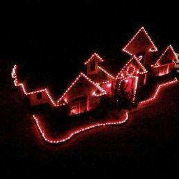 photo of plano christmas lighting mckinney tx united states arial shot of - Plano Christmas Lights
