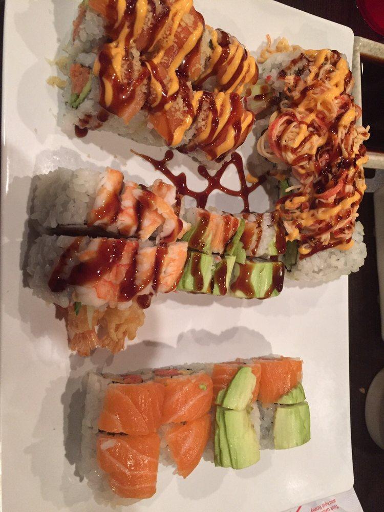 Saki Endless Sushi and Hibachi Eatery: 11921 N Dale Mabry Hwy, Tampa, FL
