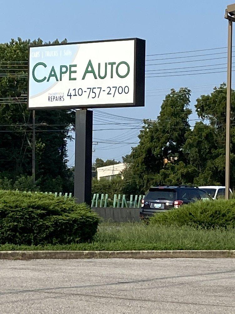 Cape Auto: 804 E College Pkwy, Annapolis, MD