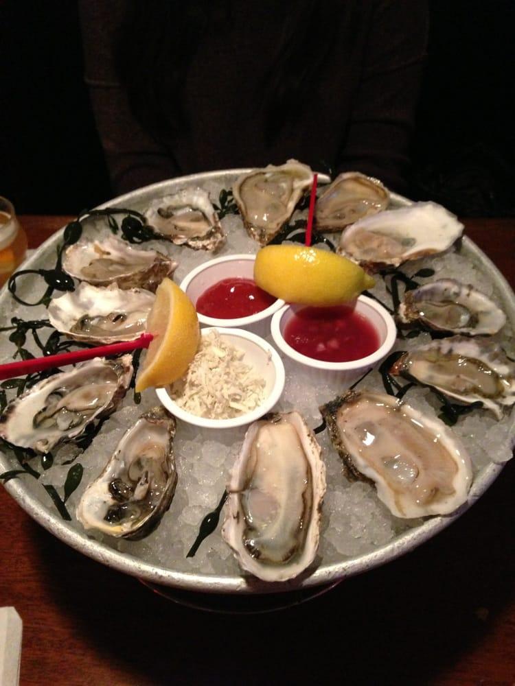Oyster sampler yelp for King fish long beach