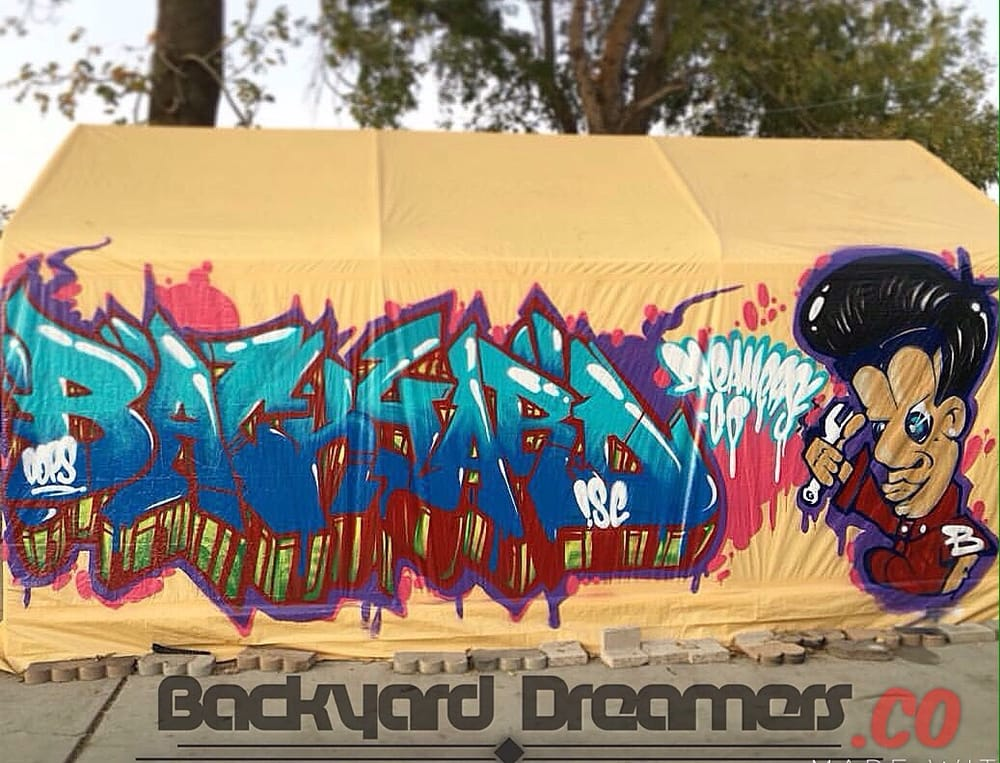 Attractive Personalised Graffiti Wall Art Image - All About Wallart ...