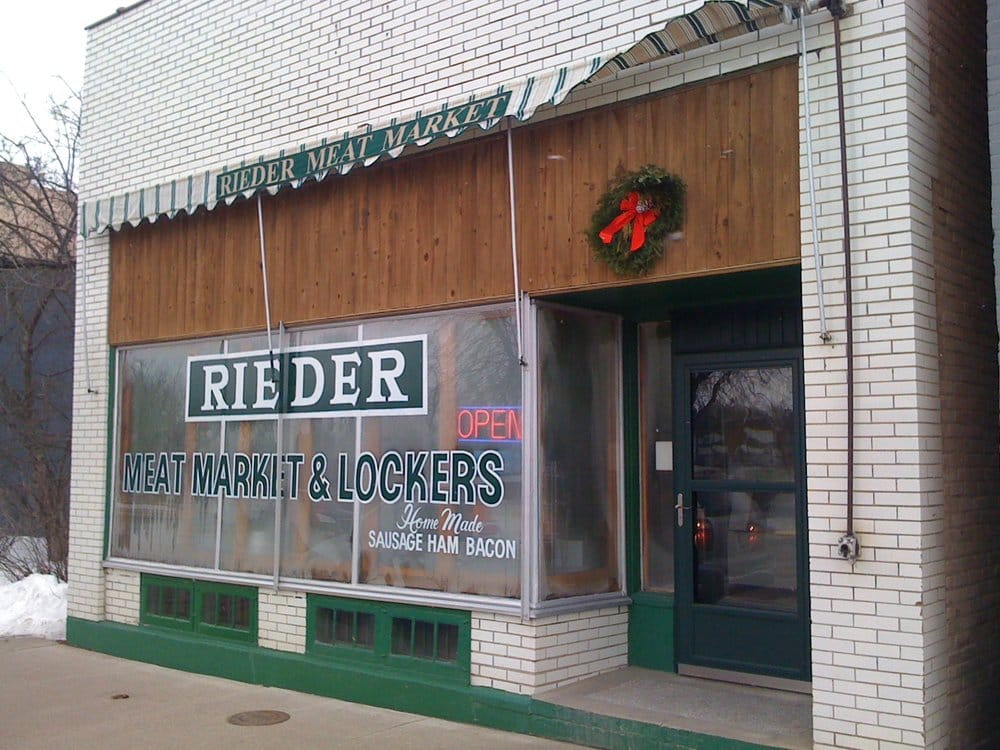 Rieder Meat Market: 150 River St N, Delano, MN