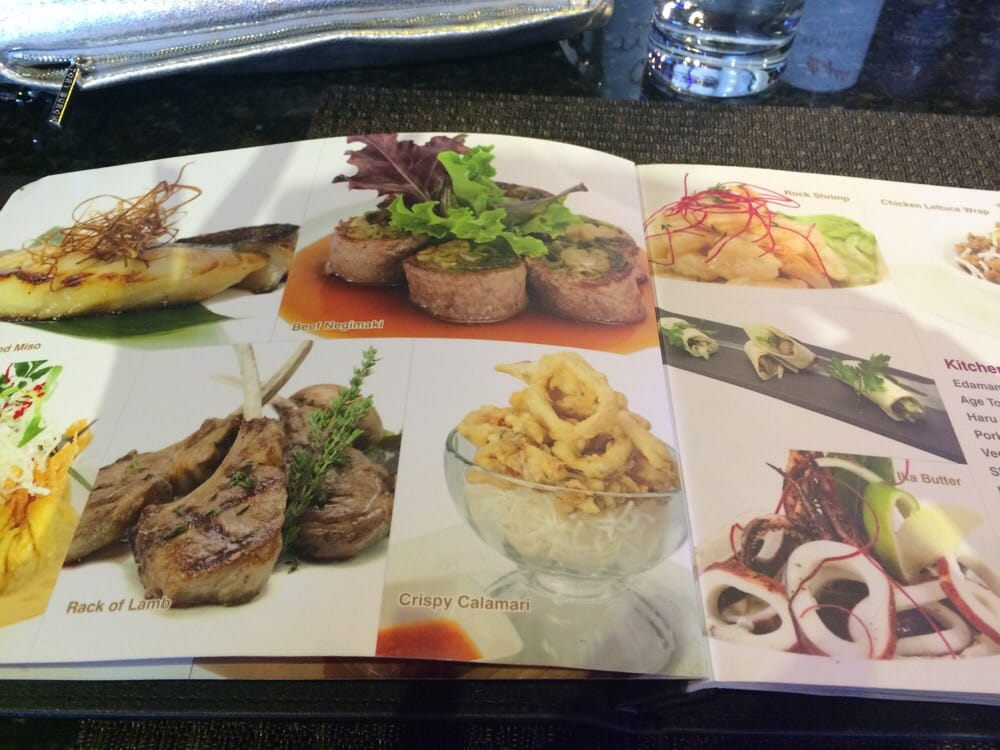 Great picture menu yelp for Ajisai japanese cuisine