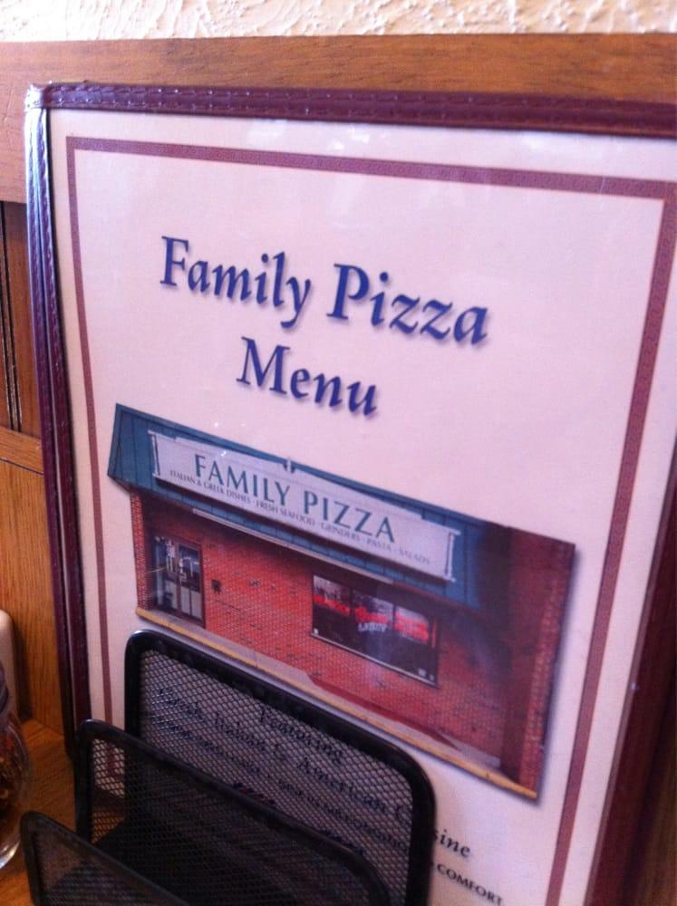 Family Pizza Restaurant In Groton