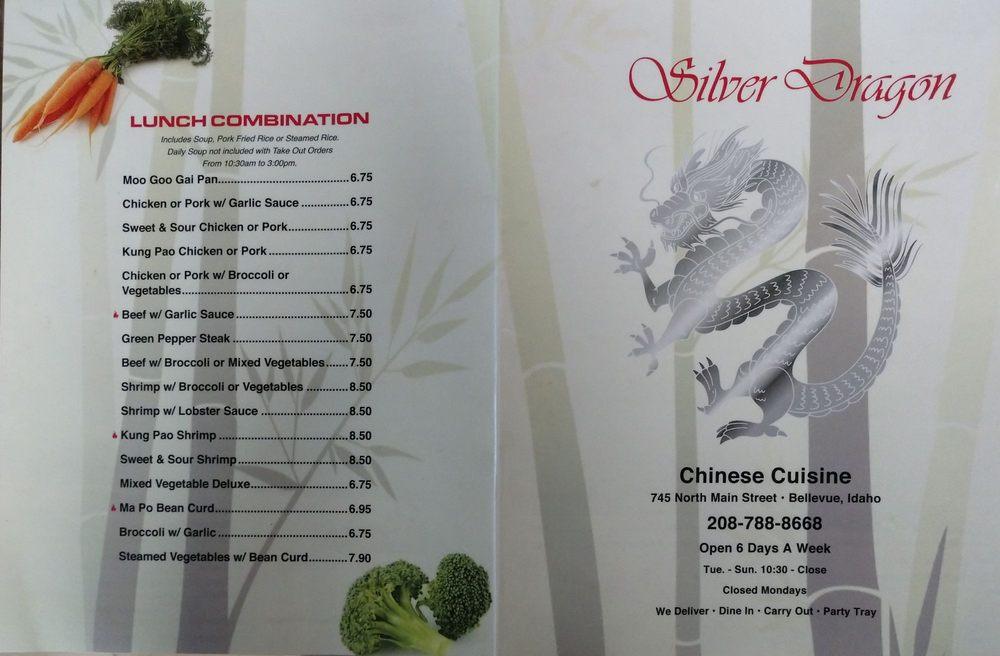 Silver Dragon: 745 N Main St, Bellevue, ID