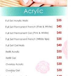 Photo Of Jade Nail Salon Elsternwick Victoria Australia Price List August 2016