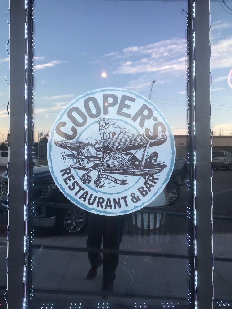 Coopers Restraunt & Bar: 114 Jane Jayroe Blvd, Laverne, OK