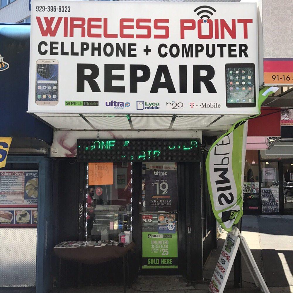 Wireless Point Cell Phone Repair: 91-20 59th Ave, Elmhurst, NY