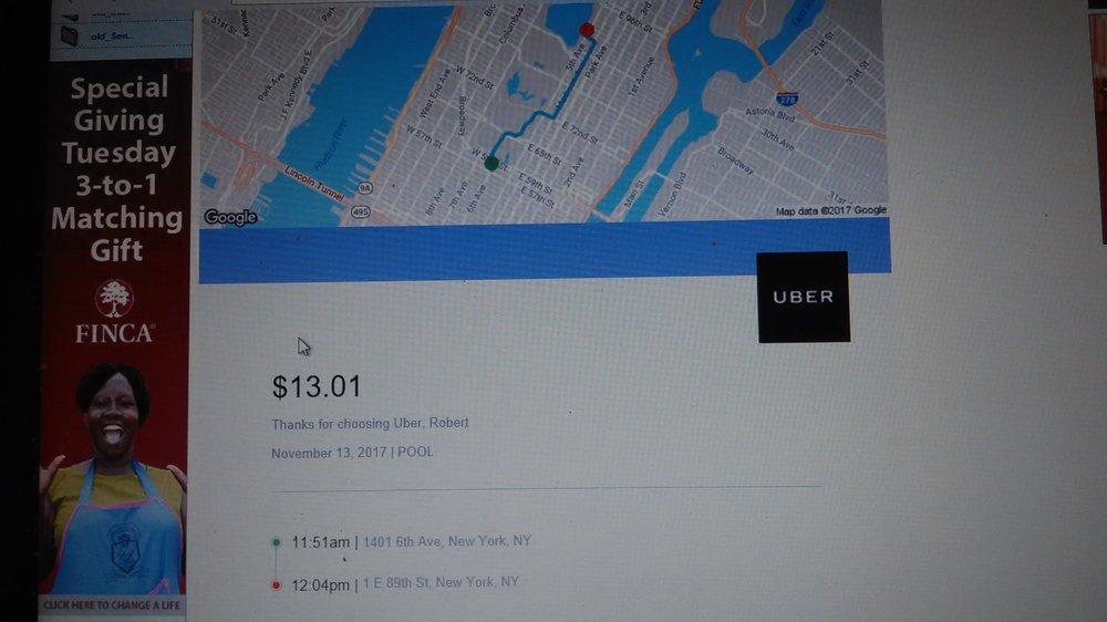 Uber: New York, NY