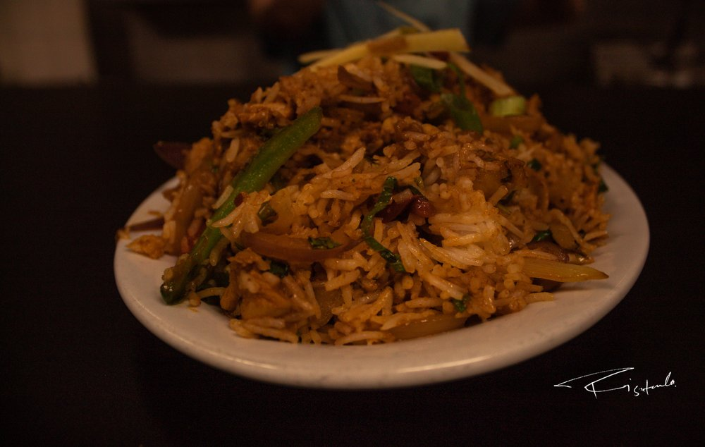Food from Sherpa Grill Indian Nepali Restaurant
