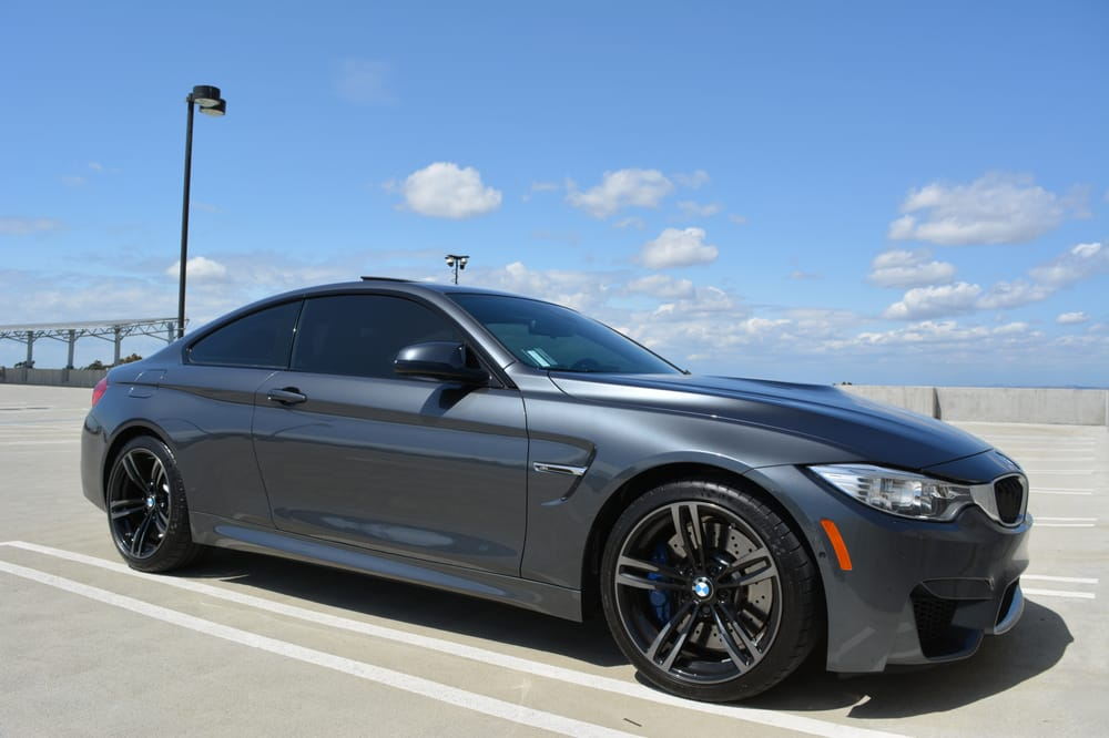 Tint work done at presto window tinting 2015 bmw m4 coupe for 2 for 1 window tinting