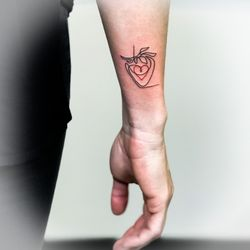 4620ff509 Photo of Mischief Tattoo - New York, NY, United States. single line tattoo
