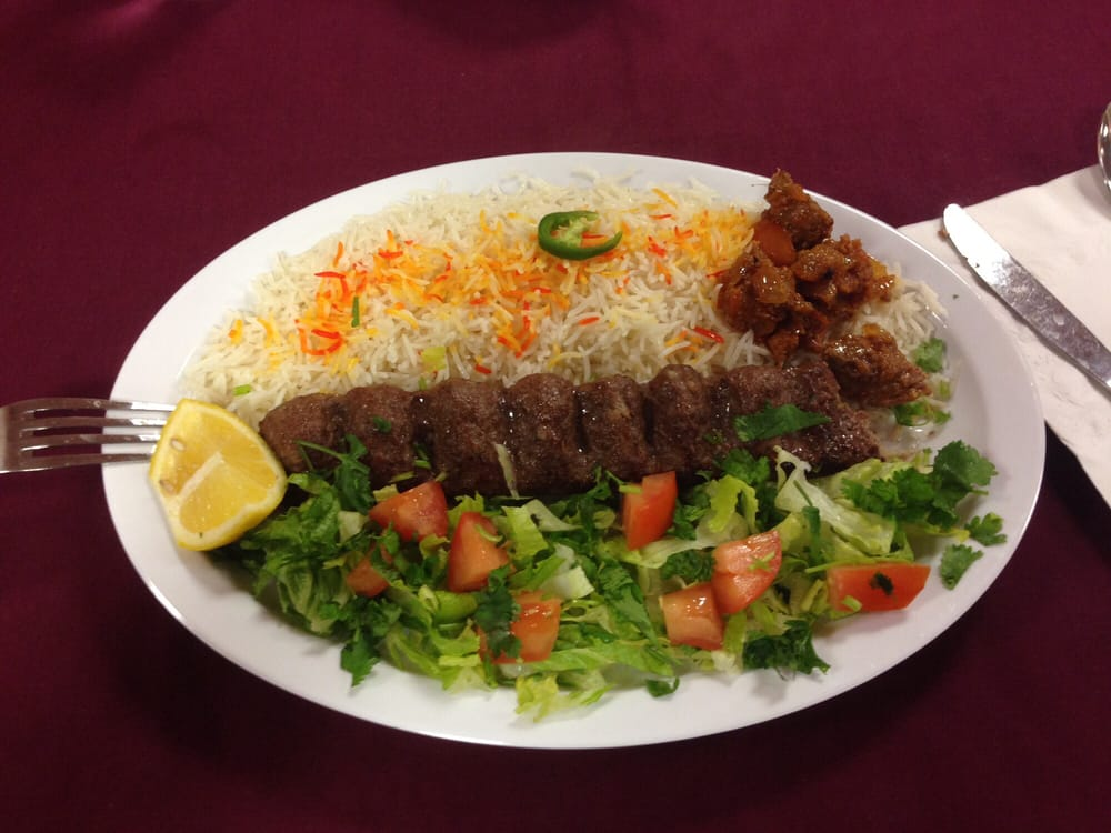 Ground lamb dish really yummy yelp for Afghan kabob cuisine