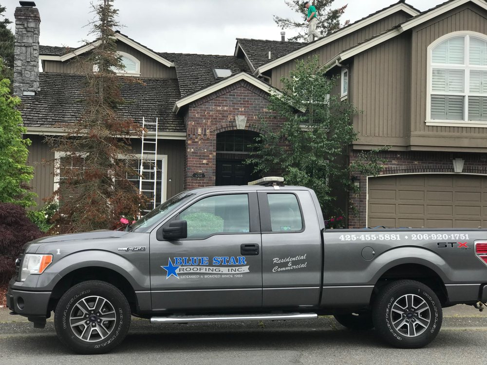 Blue Star Roofing: 12863 Northup Way, Bellevue, WA
