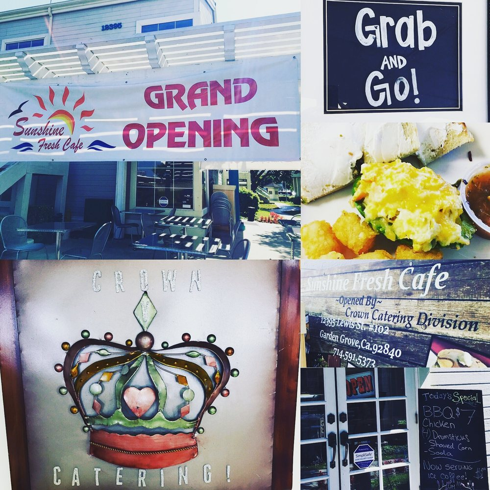 Sunshine Fresh Cafe Garden Grove