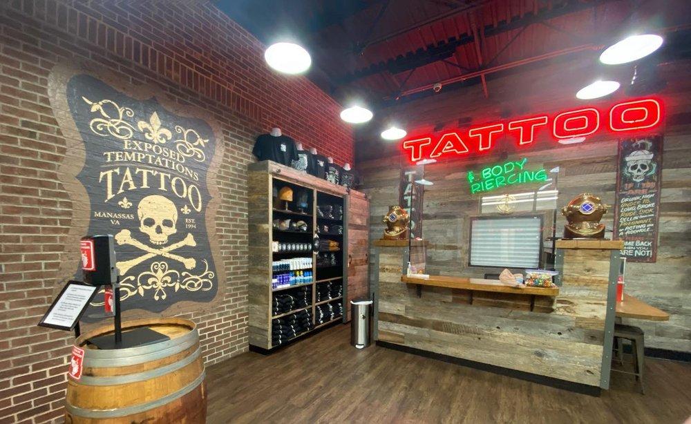 Exposed Temptations Tattoo: 8696 Liberia Ave, Manassas, VA