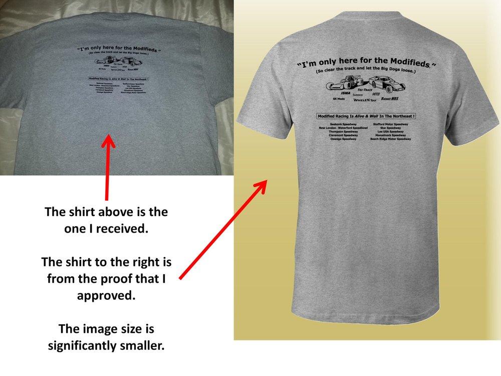 Lowegear printing 55 foto serigrafia stampa t shirt for Tampa t shirt printing