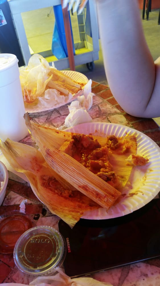 grandmas mexican tamales Wrapped and unwrapped tamales oaxaqueños (from oaxaca, mexico) filled with mole negro and chicken course, main course place of origin, mesoamerica region or state, north/central america youtube encyclopedic 1/1 views: 636 664 6 easy steps to little grandma's tamales mexican cooking class.
