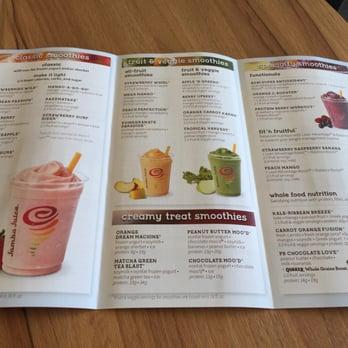 photo of jamba juice orlando fl united states menu